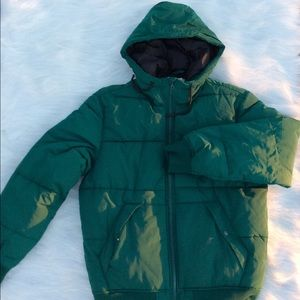 Other - Dark Green Padded Jacket Size M